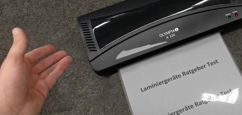 Olympia A230 Laminierset