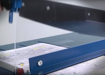 Papierschneider Schnitt