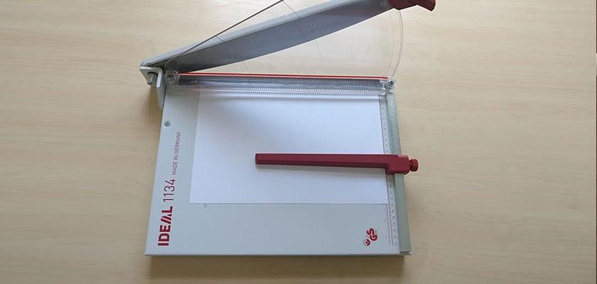 Ideal 1134 Papierschneider - Keyvisual